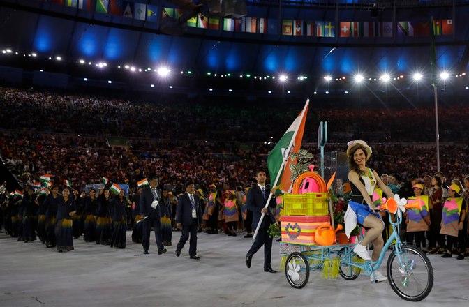Rio 2016 Congrates India